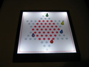 Pavilion Light Up Chinese Checkers