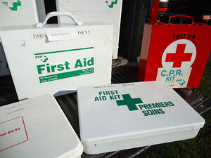 First Aid Kits Large Medium and Small metal cabinets Peterborough Peterborough Area image 3
