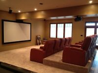 Satellite repair and install, custom home theatre...