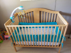 Baby Crib, Rocking Chair, Electrical Swing and Car Seat
