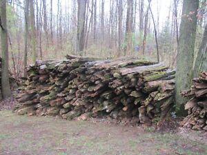 Cedar fence rails