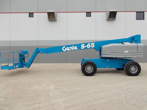 Genie S65 Boomlift for RENT