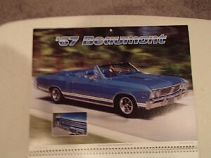 New 2001 MEMORABLE MUSCLE CARS 12 Month CALENDAR. Issued by APC. Sarnia Sarnia Area image 3