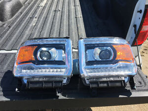 GMC hid led projection headlights
