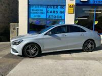 2016 Mercedes-Benz CLA 2.1 CLA 220 D AMG LINE 4d 174 BHP Coupe Diesel Semi Autom