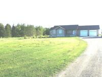 Newer Bungalow! 10 acres! Shop/Barn/ Income/Rental potential!
