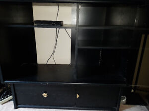 A black room furniture for free