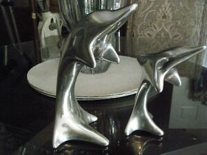 hoselton HAND CRAFTED aluminum dolphins