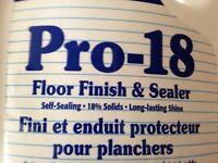 Professional floor stripper and wax