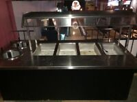 4 well buffet table