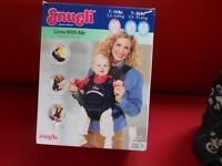 Snugli Grow with me Soft Carrier