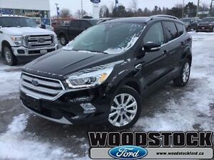 2017 Ford Escape Titanium  CANADIAN TOURING PACKAGE, ALL WHEEL D
