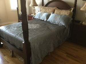 Bombay Blue and Gold Comforter