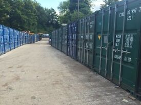 Storage Containers for Rent 160sq ft 24/7 access with 24hr security