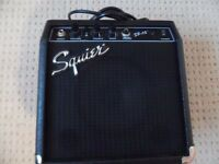 Squier SP10 guitar amp..not used