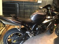Yamaha r1 2005 5vy swap for road legal quad