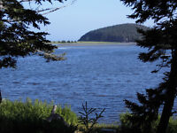 Beautiful waterfront lot on the Grand River - Cape Breton - NS