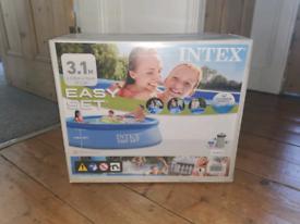 Brand New Intex 10ft Pool + Water Filter/Pump