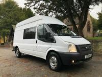 5bc49b63df 2013 13 Ford Transit van 2.2TDCi mess unit welfare camper 6 seater 134