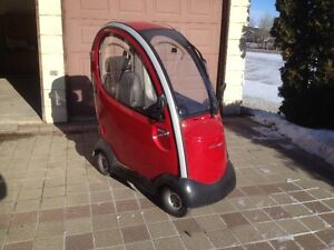 Covered Scooter For Sale