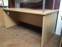 Light oak 1600 desk
