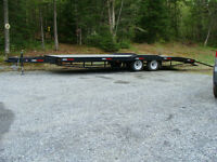 2014 -28' FLAT TOP FLOAT/TRAILER