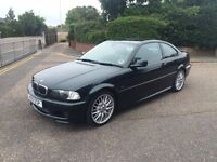 BMW E46 325i Msport coupe. May swap