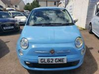 2012 62 FIAT 500 1.2 COLOUR THERAPY 3D 69 BHP