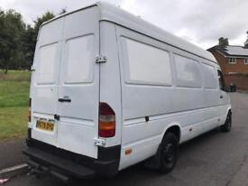 MERCEDES BENZ SPRINTER 312 D + (1998 R REG) + LWB HIGH ROOF 2900 CC