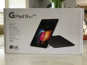 LG GPad IV 8.0 FHD 32 GB Android, Tablet, Unlocked, Unopened, Br