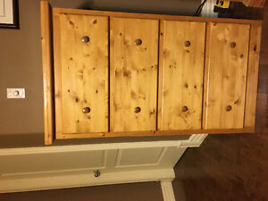 6pc Solid Pine Bedroom set