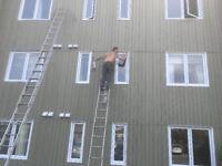 Calfeutrage de fenêtre  ,Caulking on window
