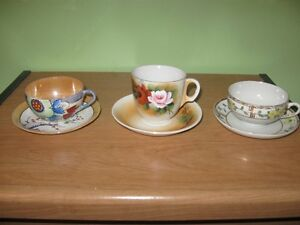 VINTAGE CUPS AND SAUCERS - REDUCED!!!!
