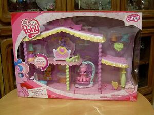 My Little Pony Newborn Cuties Pinkie Pie's Playhouse - NEW