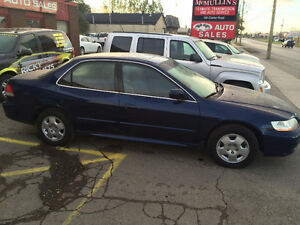 2002 HONDA ACCORD EX $4395.00 CERT, E-TEST SALE!