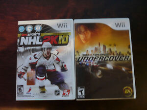 9 Wii Games and 2 wheels