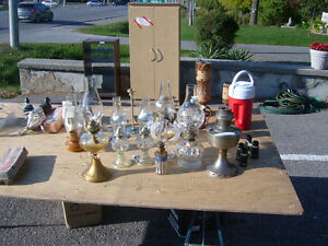 LOOK -- OIL LAMPS Kawartha Lakes Peterborough Area image 1