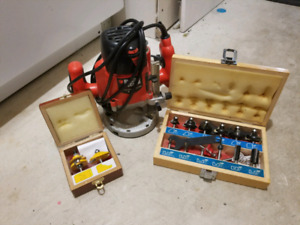 Heavy duty router with plunger SOLD
