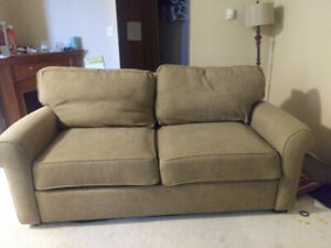 Crate and barrel pullout couch $120 OBO