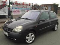 RENAULT CLIO 1.2 16V DYNAMIQUE WITH LOW 88,642 MILES + NO ADVISORIES + 2 KEYS