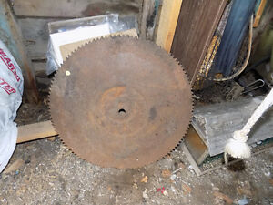 Old Mill Saw Blade