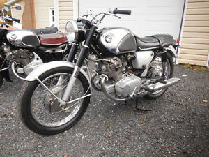 1967 Honda CB77 305 Super Hawk project. $2,800