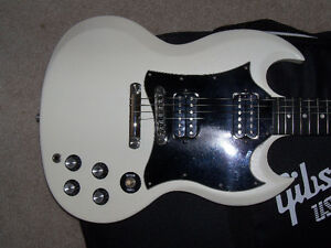 Gibson Sg Special Worn White Peterborough Peterborough Area image 1