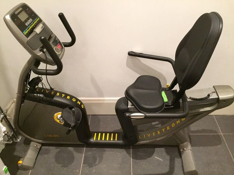 Livestrong Ls6 0r Recumbent Exercise Bike In Willesden