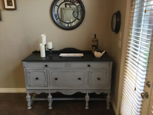 Lovely Chalk Painted Buffet