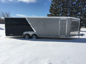 2019 Weberlane Aluminum Enclosed Snowmobile Trailer