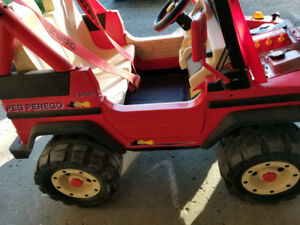 Peg Perego Montana Jeep for kids. Please read the ad $80