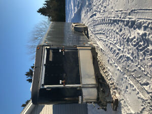 2005 snowmobile enclosed 24ft trailer