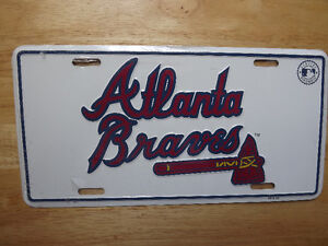 FS: Major League Baseball License Plates (Braves-O's-Rockies-Twi
