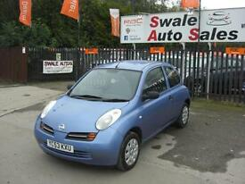2003 NISSAN MICRA S 1.2L ONLY 96,367 MILES FULL SERVICE HISTORY